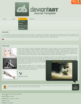 devious Journal CSS INSTALL by noxiousone
