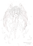 Angel Reborn: Sketch by KamiKaze-no-Ryuu