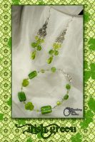 Jewelry Set - Irish Green by SCCreations