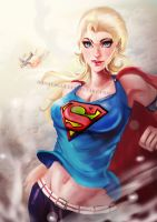 SuperGirl... by HashTag13