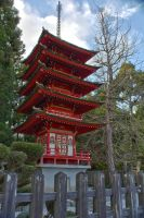 Pagoda HDR by thevictor2225
