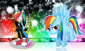 ~Sonic Rainbow Dash~ by GothicSoulIzzy