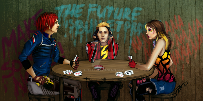 Commission - Go Fish by tbdoll