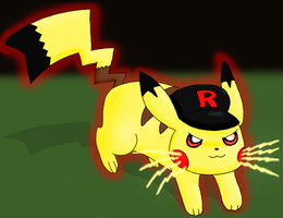 Not your ordinary pikachu by pichu90