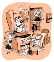 Family Dog__COLOR_ Bancroft by tombancroft