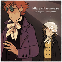 robespierre + saint-just: fallacy of the inverse by snarbolax
