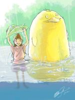 SA: A Little Rain by KrisKenshin