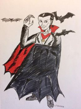 Count Dracula by Invaderskull1995