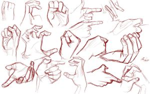 Hand Practice by LunariChaos