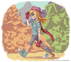 Dumpster Way by Gabby-chan1994