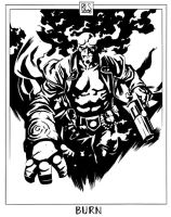 Hellboy - Burn by ronsalas