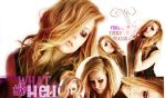 Wallpaper Avril by Teeffy