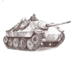 Hetzer by DoctorShaman
