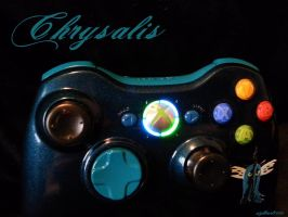 Queen Chrysalis Xbox 360 Controller by Nightowl3090