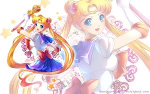 Sailor Moon WP by kaminary-san