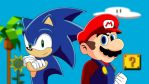 Mario and Sonic by TheWax