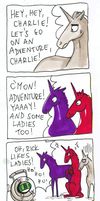 Charlie's adventure core by raintalker