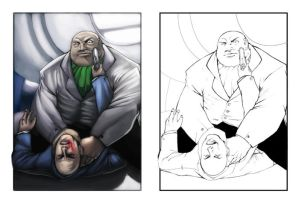 Kingpin VS Lex Luthor by RafalLegatus