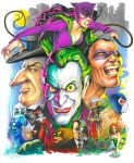 Gotham Villains by andypriceart