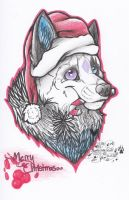 Merry Christmas :3 by SillyTheWolf