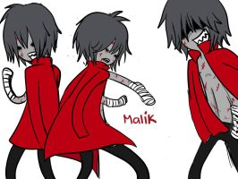Malik of the living dead. by NinjaNerdsFTW