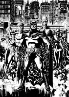 batman outsiders by comicsofjoebennett