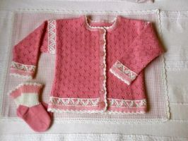 Wool Jacket for Sahra by ToveAnita