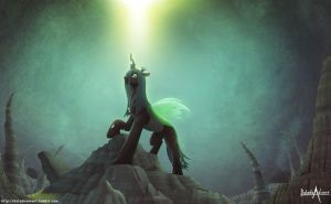 Queen Chrysalis by balade