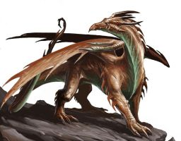 Copper Dragon by BenWootten