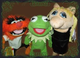 Muppets by DarkDollArt