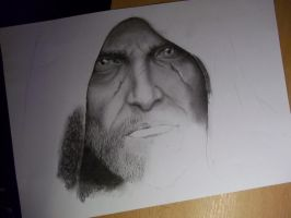 Geralt  WIP by Angua33