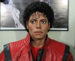 Michael Jackson lifesize Thriller statue 10-14-14 by godaiking