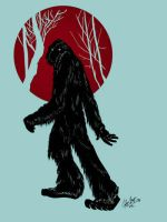 The Skunk Ape by juliusbernard
