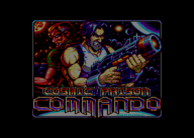 Cosmic Prison Commando - Loading Screen by Carnivius