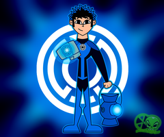 Blue lantern corps: alex by skull1045fox