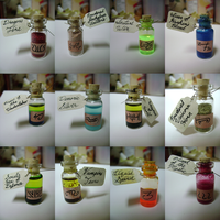 Mini Potion Bottles by Goagleon