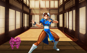 Chun Li- Dojo training by TheDemonLady