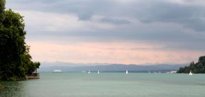 Lake of Konstanz by StephieR