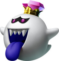 King Boo Artwork by Bowser-The-Second