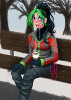 Hot Cocoa by Ultra-Adeline