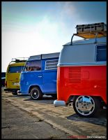 Color Buses by dirtyphonik