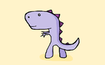 Did You Know: Dinosaurs were purple?! by LiquidFrogStudios