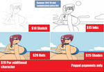 June 10 slot commissions price list by Jasmine-Redkat
