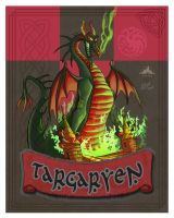 Targaryen 8 x 10 by soonergriff