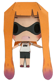Inkling Girl by PiercePapercraft