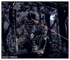Predator Sketchandcolor by JohnnyTimmons
