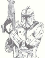 Clone Trooper by Cptspalding45