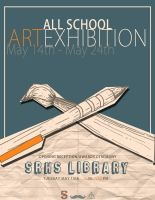 All School Art Exhibition by J-A-Y-E