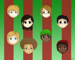 Christmas Present for fwends XD by roxas-hagaren