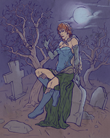 Cemetery by Vogelspinne